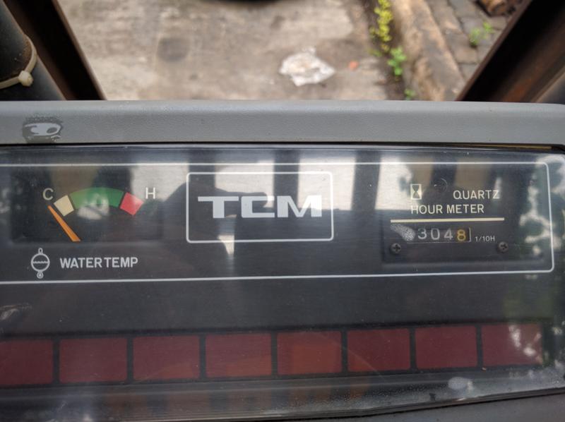 รถโฟล์คลิฟท์ TCM ตันครึ่ง เบนซิน
