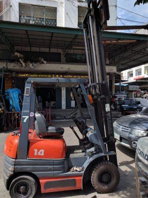 รถโฟล์คลิฟท์ Toyota 1.4 ตัน เบนซิน