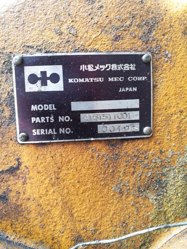 เกียร์ทอร์ครถตัก Komatsu WA100-3