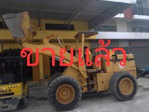 รถตัก 510 Komatsu ตีตรา International Wheel loader